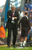 Photo: Alan Crowhurst.<br />Portsmouth v West Ham United. The Barclays Premiership. 14/10/2006. West Ham manager Alan Pardew ponders his future.