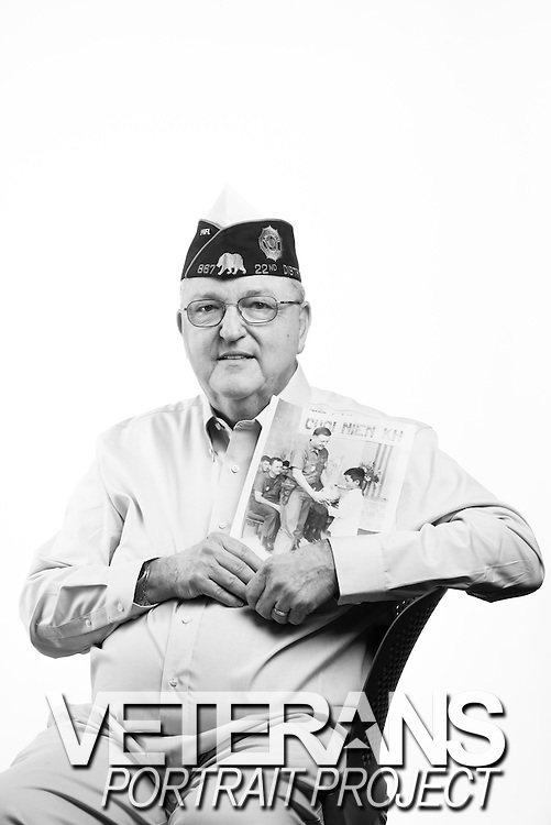 Ralph Huskey<br /> Navy<br /> CW04<br /> Court Reporter, Administration<br /> June 1960 - Feb. 1987<br /> Vietnam, Iran Hostage Crisis <br /> <br /> Veterans Portrait Project<br /> San Diego, CA