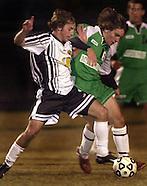 20031115 HS Soccer Providence v Myers Park