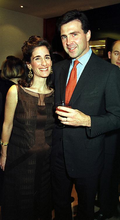 PRINCE & PRINCESS KARL VON AUERSPERG-BREUNNER, at a party in London on 30th November 1999.MZP 5