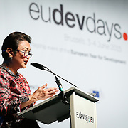 04 June 2015 - Belgium - Brussels - European Development Days - EDD - Migration - Migration is development - Making migration a driver for development - Imelda Nicolas , Chairperson , Commission on Filipinos Overseas (CFO) © European Union