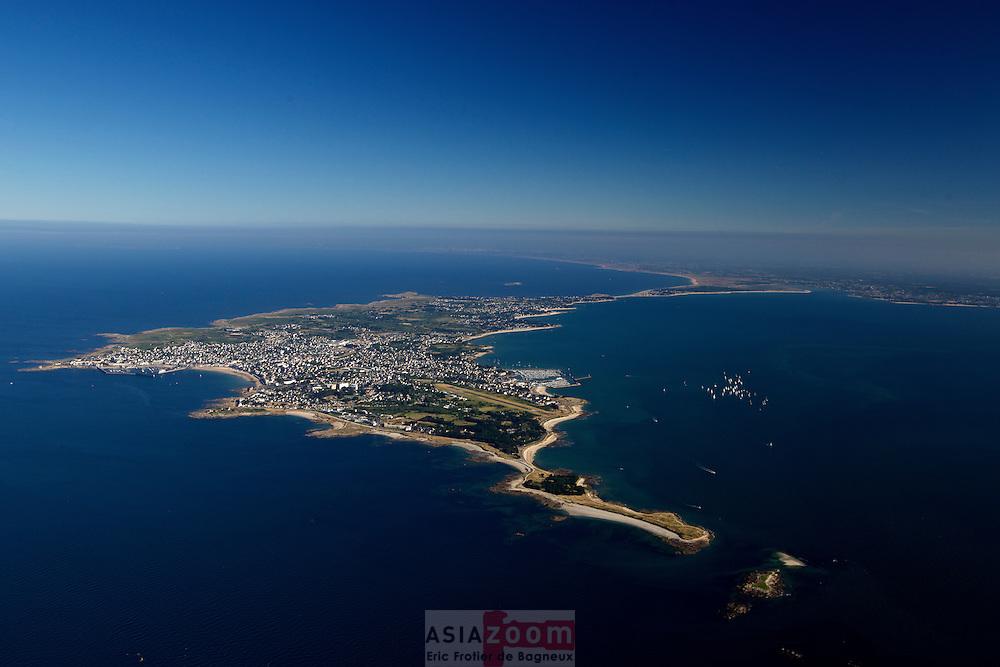 Photo Aérienne de la Presqu'ile de Quiberon, Juin 2014