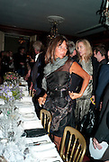 DEBBIE VON BISMARCK, Dinner hosted by Elizabeth Saltzman for Mario Testino and Kate Moss. Mark's Club. London. 5 June 2010. -DO NOT ARCHIVE-© Copyright Photograph by Dafydd Jones. 248 Clapham Rd. London SW9 0PZ. Tel 0207 820 0771. www.dafjones.com.