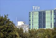 Nederland, Eindhoven, 9-9-2015Zicht vanuit het kennedyplein richting hoofdgebouw van de technische universiteit.FOTO: FLIP FRANSSEN/ HH