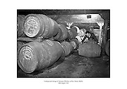 Underground storage of Jameson Whiskey at Bow Street, Dublin.<br /> <br /> 30th August 1963<br /> <br /> 30.08.1963