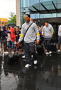 06.MAY.2011. LIVERPOOL<br /> <br /> JOLEON LESCOTT LEAVING THE HILTON HOTEL FOR THE PREMIERSHIP MATCH BETWEEN EVERTON AND MANCHESTER CITY AT GOODISON PARK IN LIVERPOOL, UK.<br /> <br /> BYLINE: EDBIMAGEARCHIVE.COM<br /> <br /> *THIS IMAGE IS STRICTLY FOR UK NEWSPAPERS AND MAGAZINES ONLY*<br /> *FOR WORLD WIDE SALES AND WEB USE PLEASE CONTACT EDBIMAGEARCHIVE - 0208 954 5968*