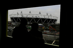 © under license to London News Pictures. .2010,12,10,   Today  (Friday)  .The Olympic Stadium being built in Stratford, East London, will host the Athletics and Paralympic Athletics events at the London 2012 Games, as well as the Opening and Closing Ceremonies..A view from the view tube building .Picture credit should read Grant Falvey/London News Pictures...