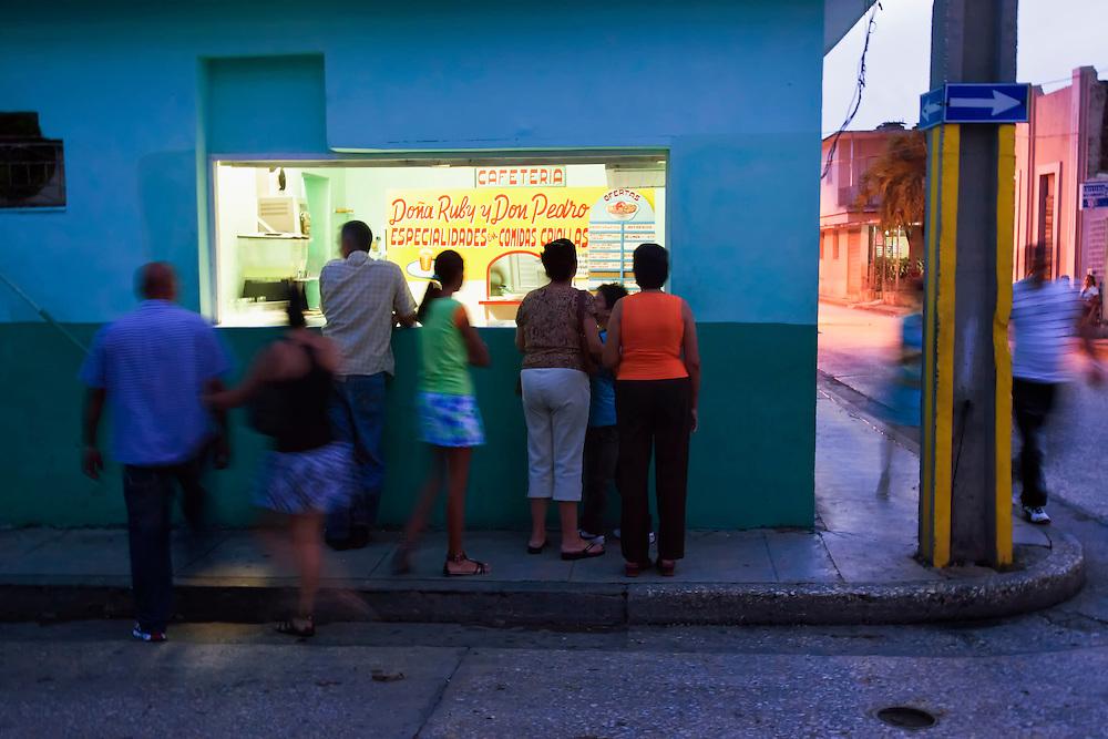 Cafe in Holguin, Cuba.