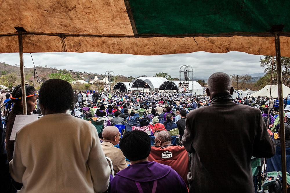 September 13, 2015, South Africa, Tshitanini village.