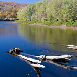 The Connecticut River in Maidstone, Vermont.