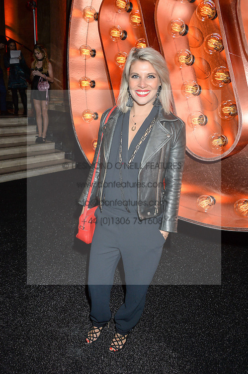 PIPS TAYLOR at the Warner Music Group & Ciroc Vodka Brit Awards After Party held at The Freemason's Hall, 60 Great Queen St, London on 24th February 2016.