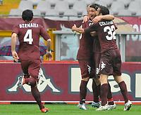 """Rolando Bianchi  (Torino) esulta dopo il gol<br /> Torino 26/04/2009 Stadio """"Olimpico"""" <br /> Campionato serie A Tim 2008/2009<br /> Torino-Siena (1-0)<br /> Foto Bigio Insidefoto"""