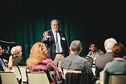 "Center for Rural Strategies' president Dee Davis leads the ""Transformational Ideas for the East Kentucky Economy"" session of the East Kentucky Leadership Conference in Prestonsburg, Kentucky, on April 26, 2012."