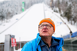 Primoz Finzgar, Preparation of Planica Hill 2 days before FIS Ski Flying World Cup, on March 20, 2018 in Planica, Ratece, Slovenia. Photo by Ziga Zupan / Sportida