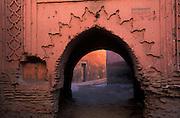 Archway, Marrakesh, Morocco