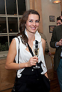 GOSIA TURNBULL; , Launch of the Orange restaurant, 37 Pimlico Road, SW1W 8NE,  Thursday 29 October 2009