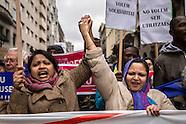 Politics - Pro refugee protest