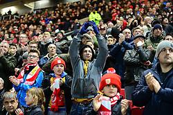 Bristol City fans - Mandatory by-line: Dougie Allward/JMP - 22/02/2017 - FOOTBALL - Ashton Gate - Bristol, England - Bristol City v Fulham - Sky Bet Championship