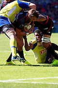 Stade Toulousain v ASM Clermont Auvergne, Stade Ernest Wallon, Samedia 13 September 2014. Top 14 5eme Journee.