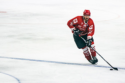 Jaka Ankerst of HDD Jesenice during 500th derbi between HK SZ Olimpija Ljubljana vs HDD SIJ Acroni Jesenice  - AHL 2019/20, on the 26th of  Oktober, Ljubljana, Slovenia. Photo by Matic Ritonja / Sportida