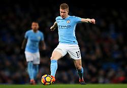 Kevin De Bruyne of Manchester City - Mandatory by-line: Matt McNulty/JMP - 10/02/2018 - FOOTBALL - Etihad Stadium - Manchester, England - Manchester City v Leicester City - Premier League