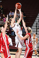 January 29, 2009: The St. Gregory's Cavaliers play against the Oklahoma Christian University Lady Eagles at the Eagles Nest on the campus of Oklahoma Christian University.