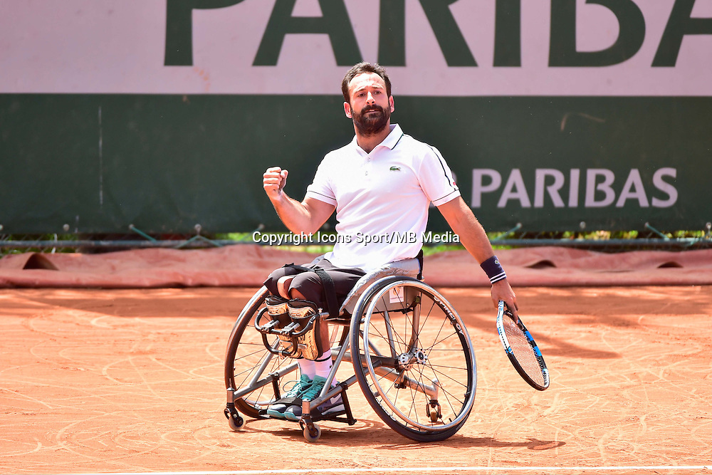 Michael JEREMIASZ - 03.06.2015 - Jour 11 - Roland Garros 2015 <br />