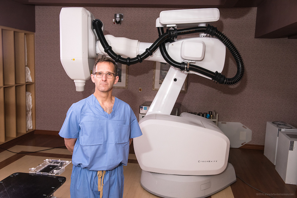 Neurosurgeon Steven P. Kiefer MD, photographed Thursday, May 21, 2015 at Baptist Health in Lexington, Ky. (Photo by Brian Bohannon/Videobred for Baptist Health)