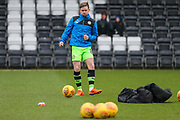 Forest Green Rovers Dayle Grubb(8) warming up during the EFL Sky Bet League 2 match between Forest Green Rovers and Port Vale at the New Lawn, Forest Green, United Kingdom on 6 January 2018. Photo by Shane Healey.