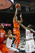 FAYETTEVILLE, AR - NOVEMBER 30:  Michael Carter-Williams #1 of the Syracuse Orangemen goes up for a shot against the Arkansas Razorbacks at Bud Walton Arena on November 30, 2012 in Fayetteville, Arkansas.  The Orangemen defeated the Razorbacks 91-82.  (Photo by Wesley Hitt/Getty Images) *** Local Caption *** Michael Carter-Williams