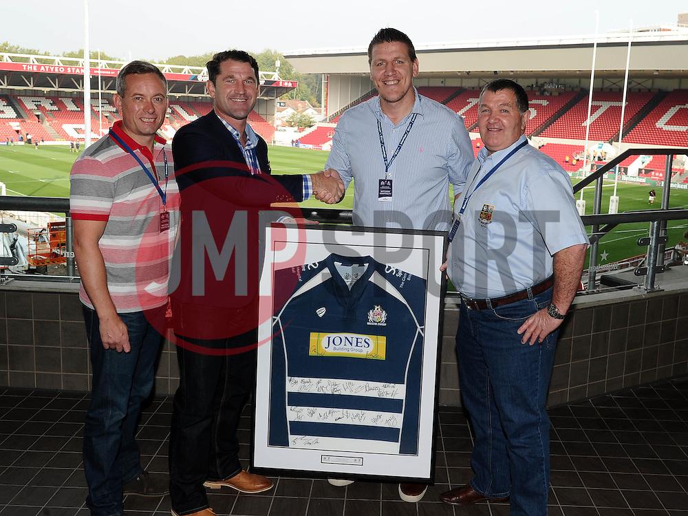 Match Sponsors  - Mandatory byline: Joe Meredith/JMP - 07966386802 - 04/10/2015 - RUGBY - Ashton Gate -Bristol,England - Bristol Rugby v Rotherham Titans - Greene King IPA Championship