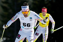 MCKEEVER Brian Guide: CARLETON Erik, CAN, Long Distance Cross Country, 2015 IPC Nordic and Biathlon World Cup Finals, Surnadal, Norway