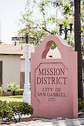 Mission District City of San Gabriel