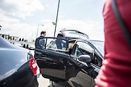 Juillet 2016. Bosnie-Herzégovine. Bosnie-Herzégovine : Nouvel Eldorado pour les touristes des Etats du Golfe ?. Quartier d'Ilidza, près de l'aéroport, investit par les ressortissants du Golfe.