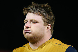 Kyle Traynor of Bristol Rugby looks frustrated after Gloucester Rugby win 26-18 - Rogan Thomson/JMP - 03/12/2016 - RUGBY UNION - Kingsholm Stadium - Gloucester, England - Gloucester Rugby v Bristol Rugby - Aviva Premiership.
