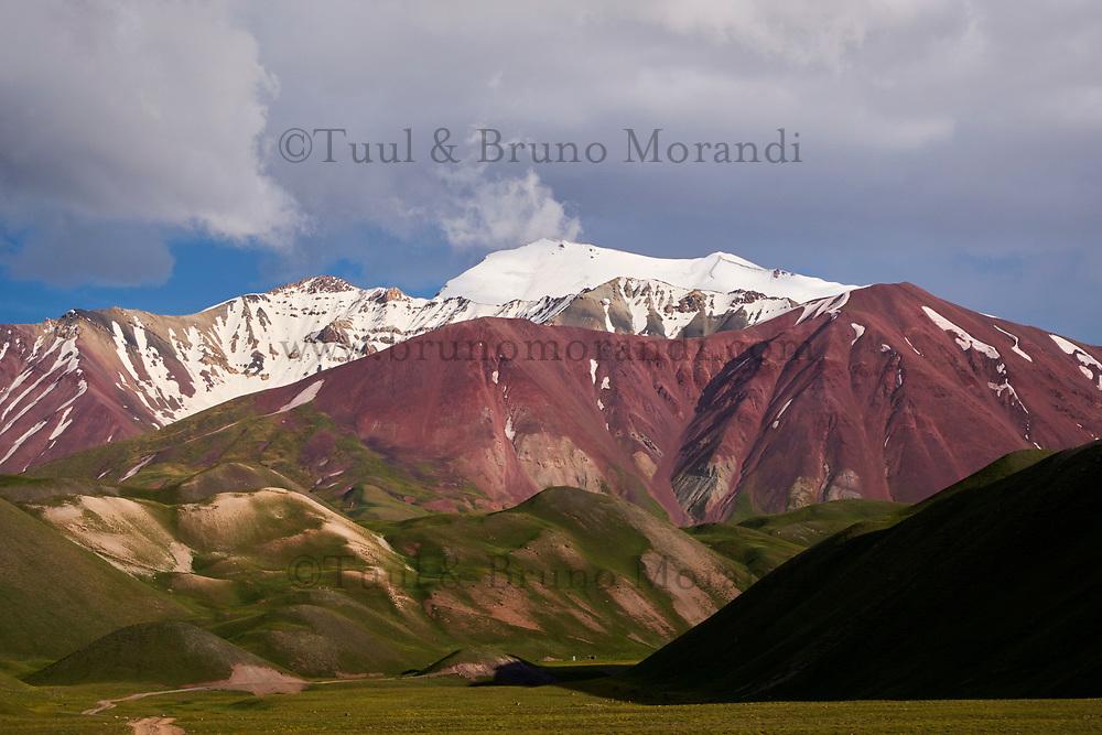 Kirghizistan, province de Osh, la vallée d'Alaï // Kyrgyzstan, Osh province, Alaï valley