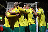 Picture by Paul Chesterton/Focus Images Ltd.  07904 640267.10/12/11.Grant Holt of Norwich scores his sides 2nd goal and celebrates during during the Barclays Premier League match at Carrow Road Stadium, Norwich.
