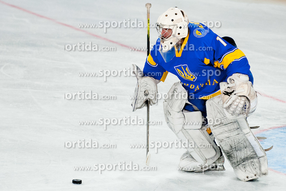 Igor Karpenko  of Ukraine during ice-hockey match bewteen Ukraine and Austria at IIHF World Championship DIV. I Group A Slovenia 2012, on April 15, 2012 at SRC Stozice, Ljubljana, Slovenia. (Photo By Matic Klansek Velej / Sportida.com)