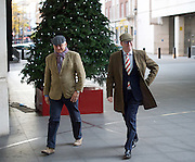 Andrew Marr Show arrivals at Broadcasting House, BBC, London, Great Britain <br /> 4th December 2016 <br /> <br /> Paul Nuttall <br /> Leader of UKIP <br /> <br /> with Patrick O'Flynn <br /> <br /> Photograph by Elliott Franks <br /> Image licensed to Elliott Franks Photography Services