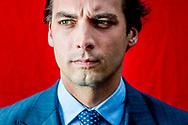 den haag portret van thierry baudet Portret van Thierry Baudet (Forum voor Democratie). ROBIN UTRECHT
