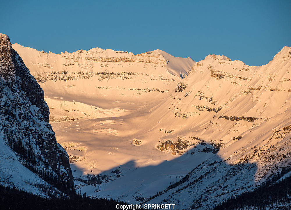 Mountains around Lake Louise.., Alberta, Canada, Isobel Springett
