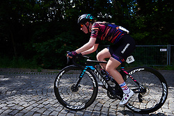 Alice Barnes (GBR) in a solo move at Lotto Thüringen Ladies Tour 2019 - Stage 2, a 116 km road race in Schleiz, Germany on May 29, 2019. Photo by Sean Robinson/velofocus.com