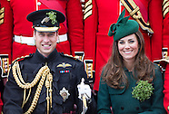 KATE & William Attend St Patrick's Day Parade 2