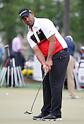 PGA golfer Rafael Campos on the practice green at the Golf Club of Houston on Tuesday, March 29, 2016 in Humble, TX. (Photo: Thomas B. Shea/For the Chronicle)