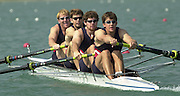 2003 - FISA World Cup Rowing Milan Italy.30/05/2003  - Photo Peter Spurrier.USA M4- (B) Jeffrey Klepacki, Brian McDonough, Darren Walsh and Mark Flickinger [Mandatory Credit: Peter Spurrier:Intersport Images]