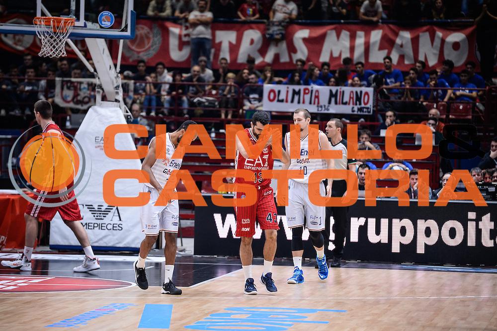 DESCRIZIONE : Milano Lega A 2015-16 <br /> GIOCATORE : Krunoslav Simon<br /> CATEGORIA : Ritratto Esultanza<br /> SQUADRA : <br /> EVENTO : Campionato Lega A 2015-2016<br /> GARA : Olimpia EA7 Emporio Armani Milano Enel Brindisi<br /> DATA : 20/12/2015<br /> SPORT : Pallacanestro<br /> AUTORE : Agenzia Ciamillo-Castoria/M.Ozbot<br /> Galleria : Lega Basket A 2015-2016 <br /> Fotonotizia: Milano Lega A 2015-16
