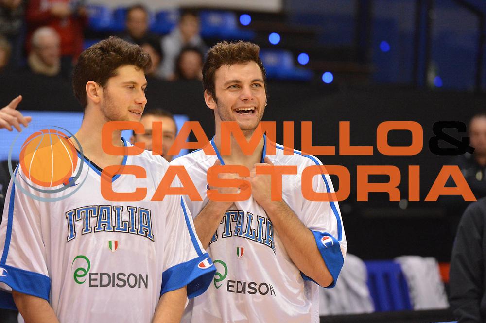 DESCRIZIONE : Biella Beko All Star Game 2012-13<br /> GIOCATORE : Gentile Stefano<br /> CATEGORIA : esultanza curiosita<br /> SQUADRA : Italia<br /> EVENTO : All Star Game 2012-13<br /> GARA : Italia All Star Team<br /> DATA : 16/12/2012 <br /> SPORT : Pallacanestro<br /> AUTORE : Agenzia Ciamillo-Castoria/GiulioCiamillo<br /> Galleria : FIP Nazionali 2012<br /> Fotonotizia : Biella Beko All Star Game 2012-13<br /> Predefinita :