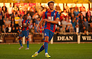 Patrick Bamford in action during the Pre-Season Friendly match between Bromley and Crystal Palace at the Courage Stadium, Bromley, United Kingdom on 30 July 2015. Photo by Michael Hulf.