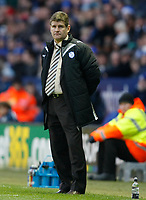 Photo: Steve Bond/Richard Lane Photography. Leicester City v Sheffield Wednesday. Coca Cola Championship. 12/12/2009. Brian Laws looks worried