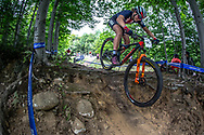 BATTEN Haley (USA) during the Team Relay at the 2019 UCI MTB World Championships in Mont-Sainte-Anne, Canada.